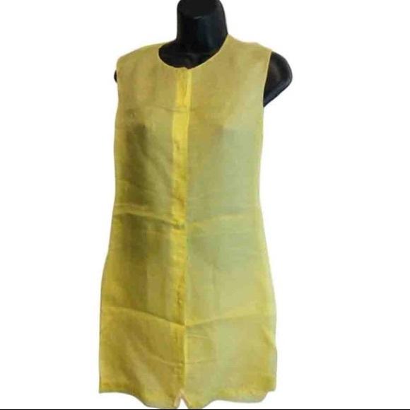 Calvin Klein Dresses & Skirts - Calvin Klein Silk Lemonade Tunic Dress